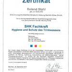 SHK-Fachkraft-Hygiene-u